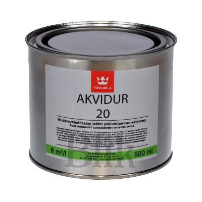 Lakier do drewna Akvidur 20 Tikkurila 500 ml
