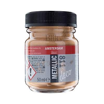 Metallic lakier Amsterdam brąz nr 811