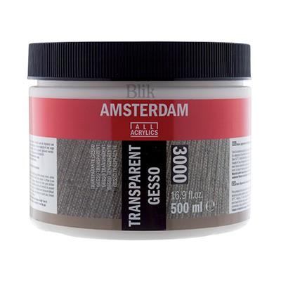 Gesso grunt akrylowy transparentne Talens 500 ml