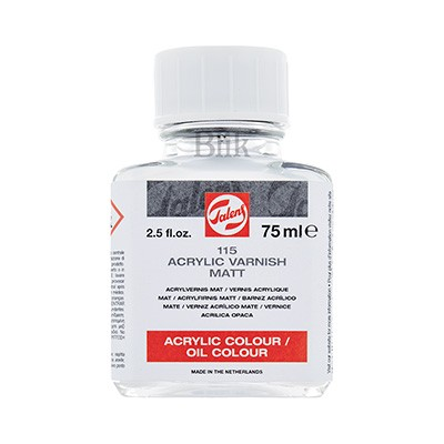 Werniks akrylowy matowy 115 Talens 75 ml