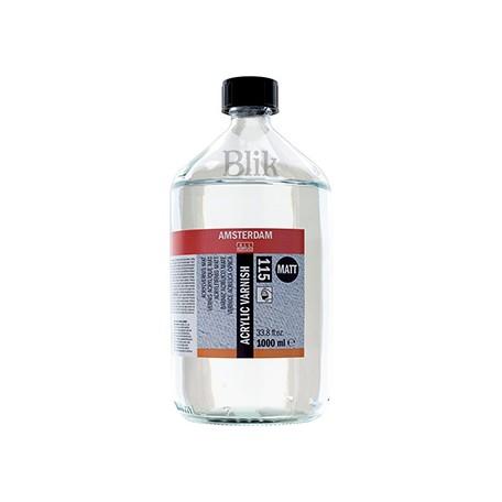 Werniks akrylowy matowy 115 Talens 1000 ml