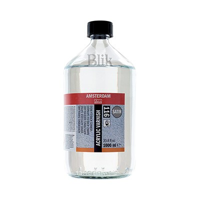 Werniks akrylowy satynowy 116 Talens 1000 ml