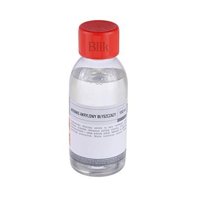 Werniks akrylowy błyszczący Blik 150 ml