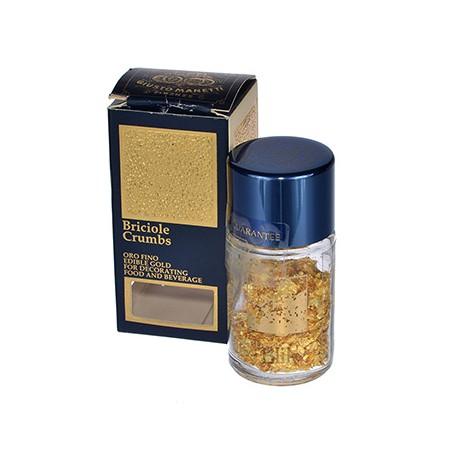 złoto spożywcze 23 kt okruszki 1 g