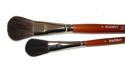 Pędzel płaski Kolibri 1014 nr 6