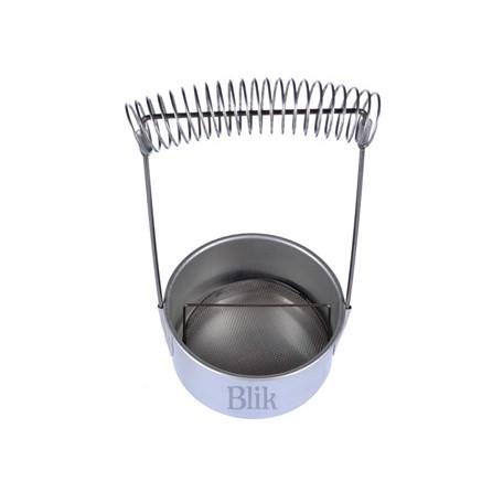 Pojemnik do mycia pędzli metalowy