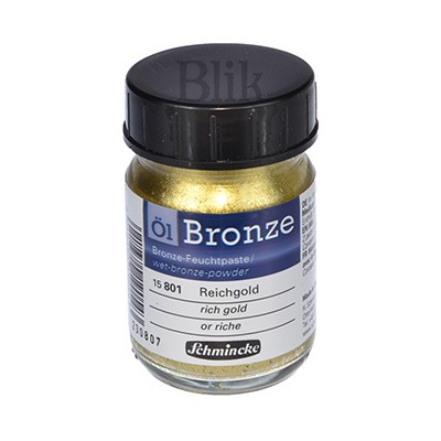 Brąza Schmincke Bronze rich gold 801 50 ml