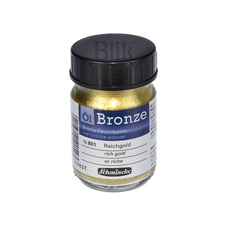 Brąza Schmincke Bronze rich gold 801 50 ml