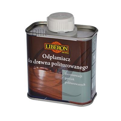 Odplamiacz do drewna politurowanego Liberon 125 ml