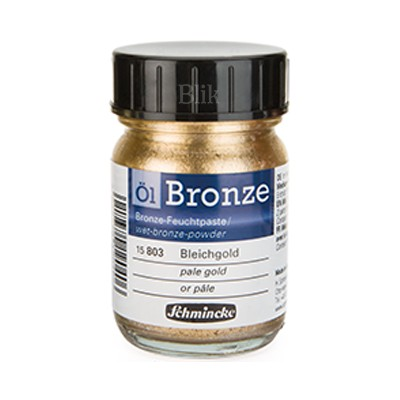 Brąza Schmincke Bronze pale gold 803 50 ml