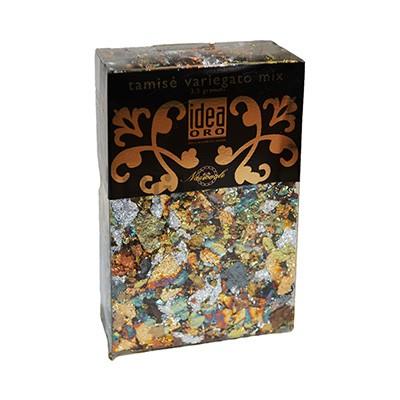 Szlagmetal mozaikowy Maimeri płatki variegato mix
