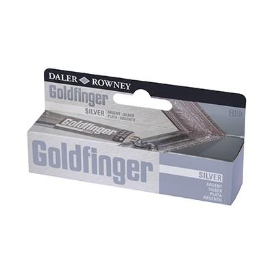 Goldfinger pasta pozłotnicza srebro