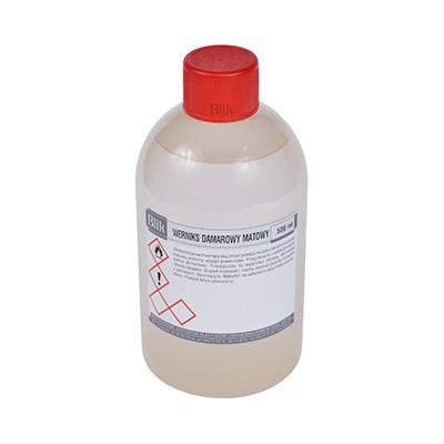 Werniks damarowy matowy 500 ml