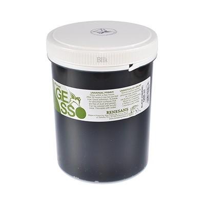 Gesso grunt akrylowy czarny 1200 ml