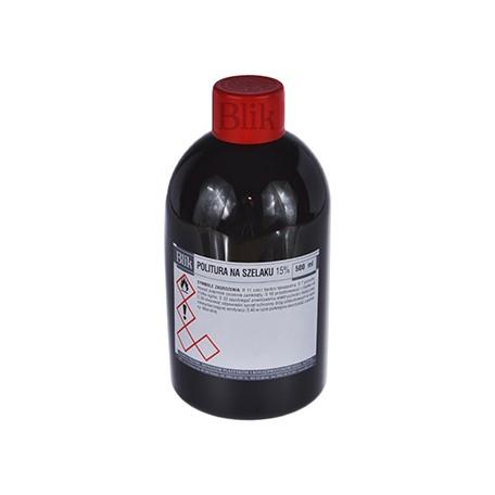 Politura na szelaku rubinowym 500 ml