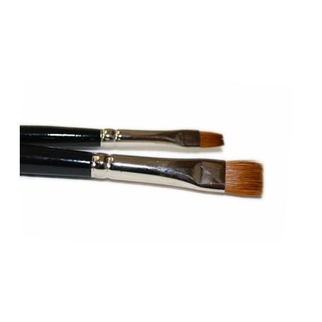 Pędzel płaski naturalne włosie Kolibri 788 nr 2