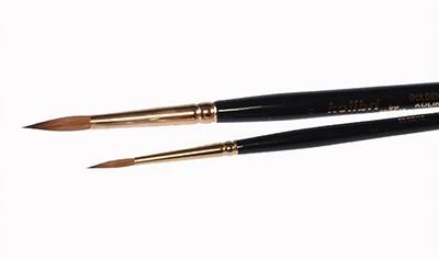 Pędzel okrągły włosie sobolowe Kolibri 98 nr 1