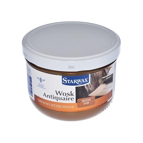 Wosk w paście Starwax średni dąb 375 ml