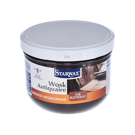 Wosk w paście Starwax dąb rustykalny 375 ml