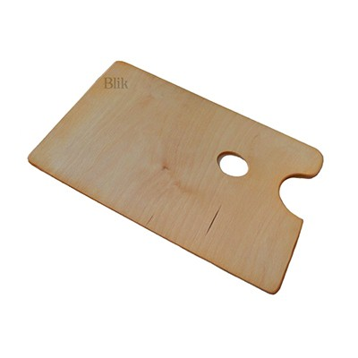 Paleta drewniana prostokątna 28 x 45 cm