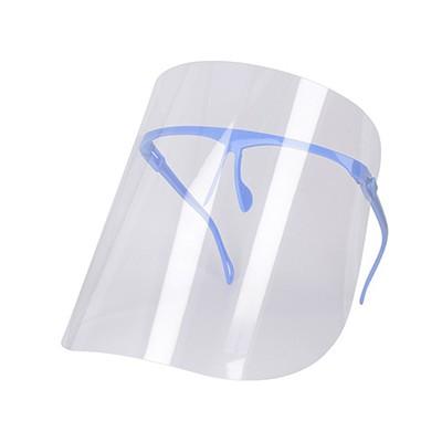 Przyłbica ochronna z regulacją jasnoniebieska