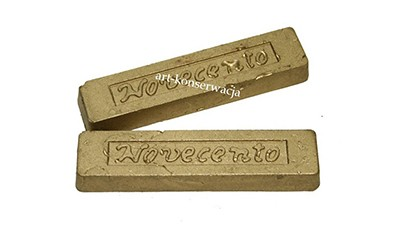 Pałeczka woskowa metaliczna złoto jasne