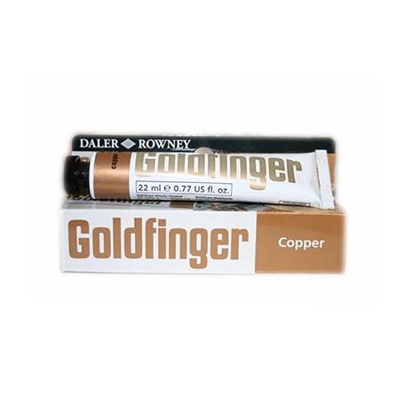 Goldfinger pasta pozłotnicza miedź