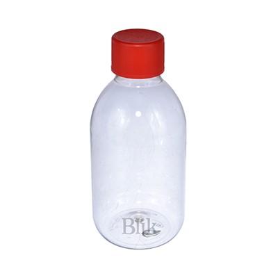 Butelka plastikowa z zakrętką 250 ml
