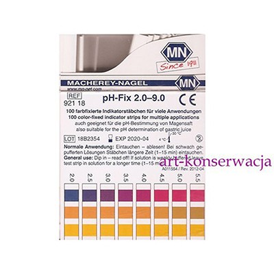 Papierki lakmusowe pH-Fix 2.0-9