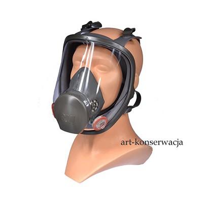 Maska całotwarzowa 3 M seria 6800 rozm M