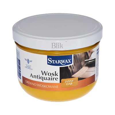 Wosk w paście Starwax jasny dąb 375 ml