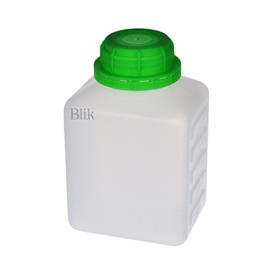 Butelka plastikowa HDPE prostokątna 500 ml