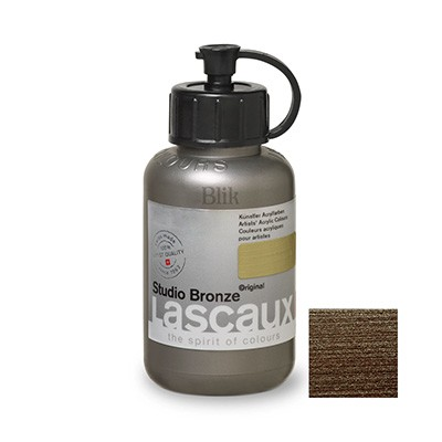 Lascaux Studio Bronze 85 ml Britannia Silver nr 996