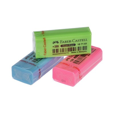 Gumka fluo Dust Free Faber Castell