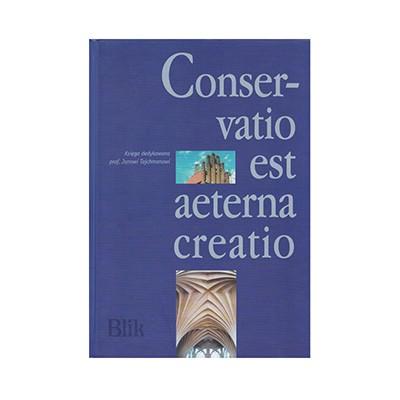 Książka Conservatio est aeterna creatio