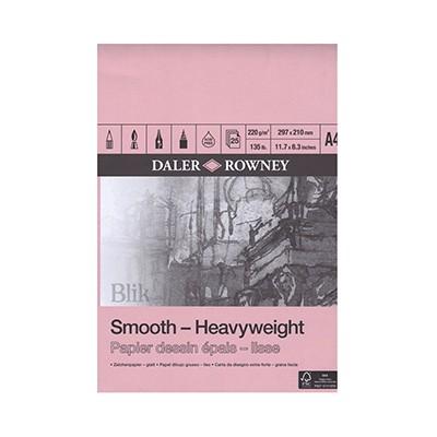 Blok rysunkowy Daler&Rowney Smooth A 4 220 g