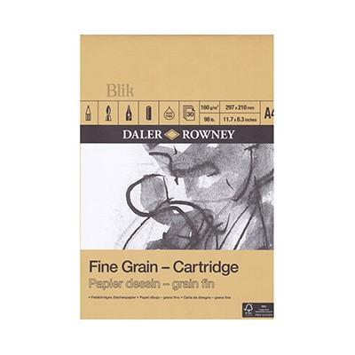 Blok rysunkowy Daler&Rowney Fine Grain A 4 160 g
