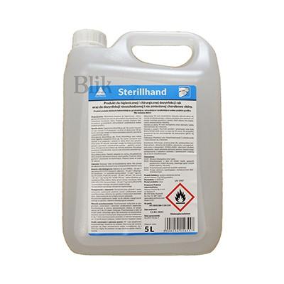 Sterillhand środek do higienicznej dezynfekcji rąk 5000 ml