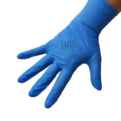 Rękawiczki nitrylowe Doman bezpudrowe L op. 100 szt