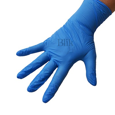 Rękawice ochronne nitrylowe bezpudrowe 100 szt rozmiar S