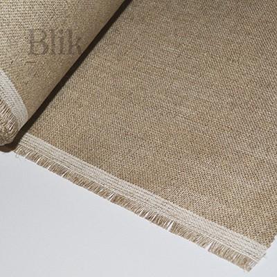 Płótno lniane tkanina malarska 140 cm