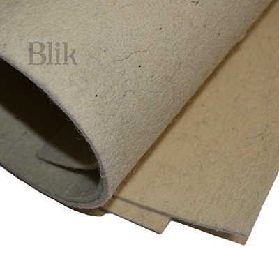 Filc techniczny 6-7 mm naturalny 25/100 cm