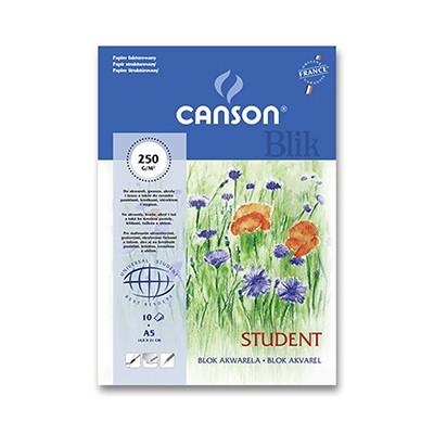 Blok akwarelowy Canson Student A 5 250 g