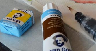 Farby wodne dla plastyków i konserwatorów